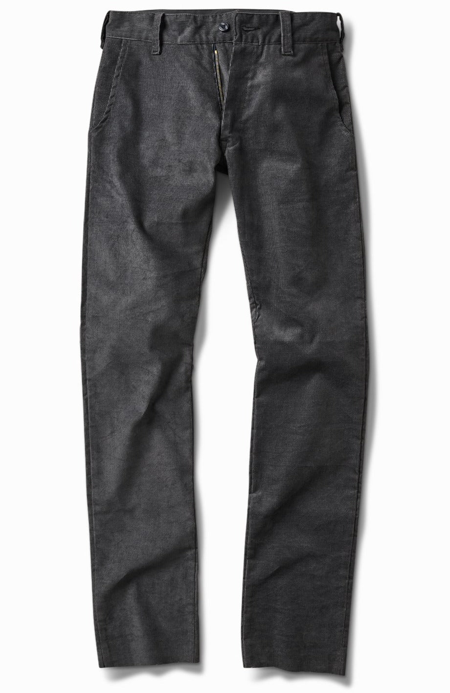 charcoal whale corduroy - tall straight
