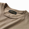 Thick Rib Pocket Tee - Sahara