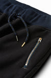 Moto Sweatpants Sulfur Black