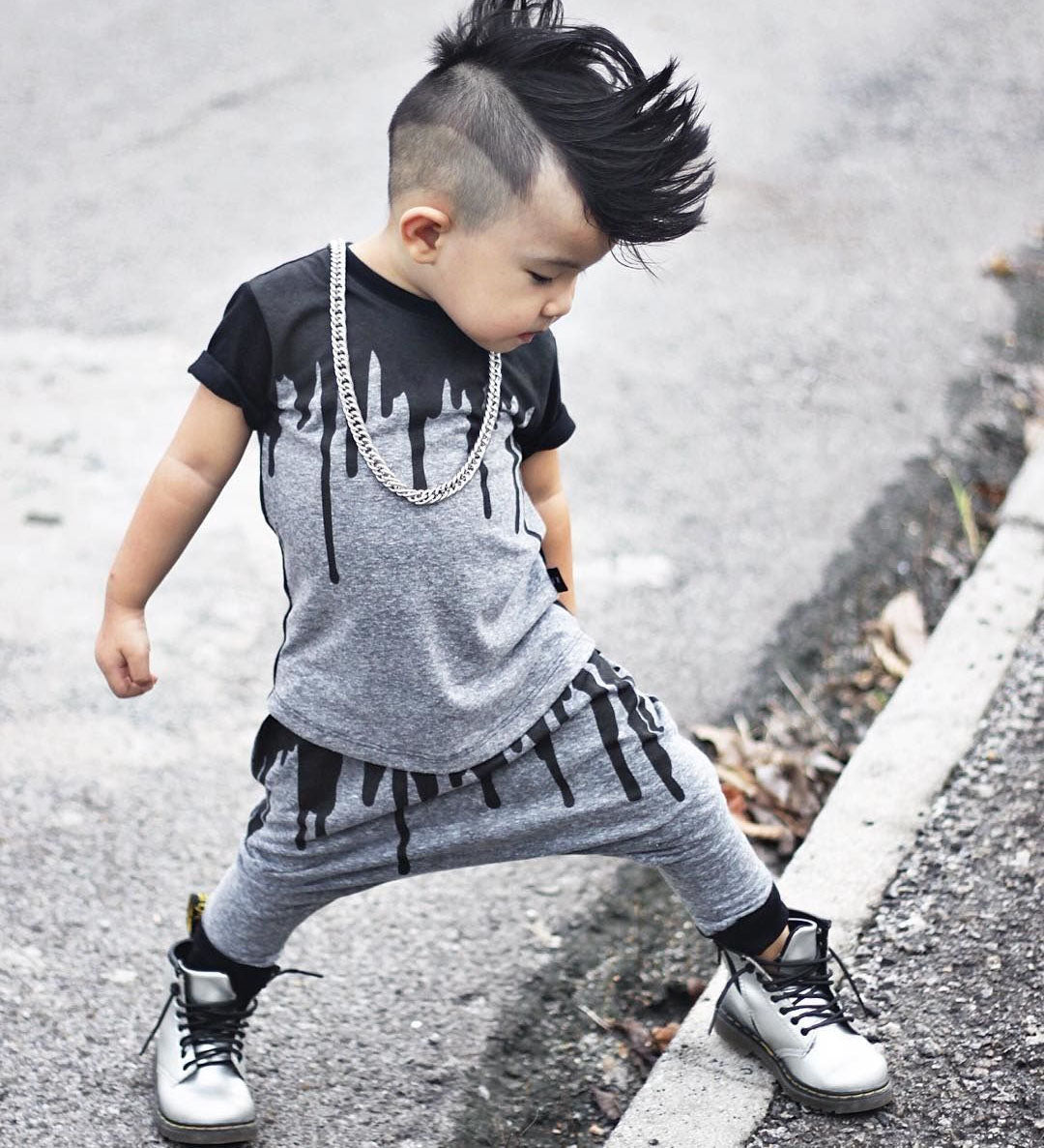 97a4df9a88dd Drip Top Swag Outfit for Boys and Toddlers – HelloSundayClothing