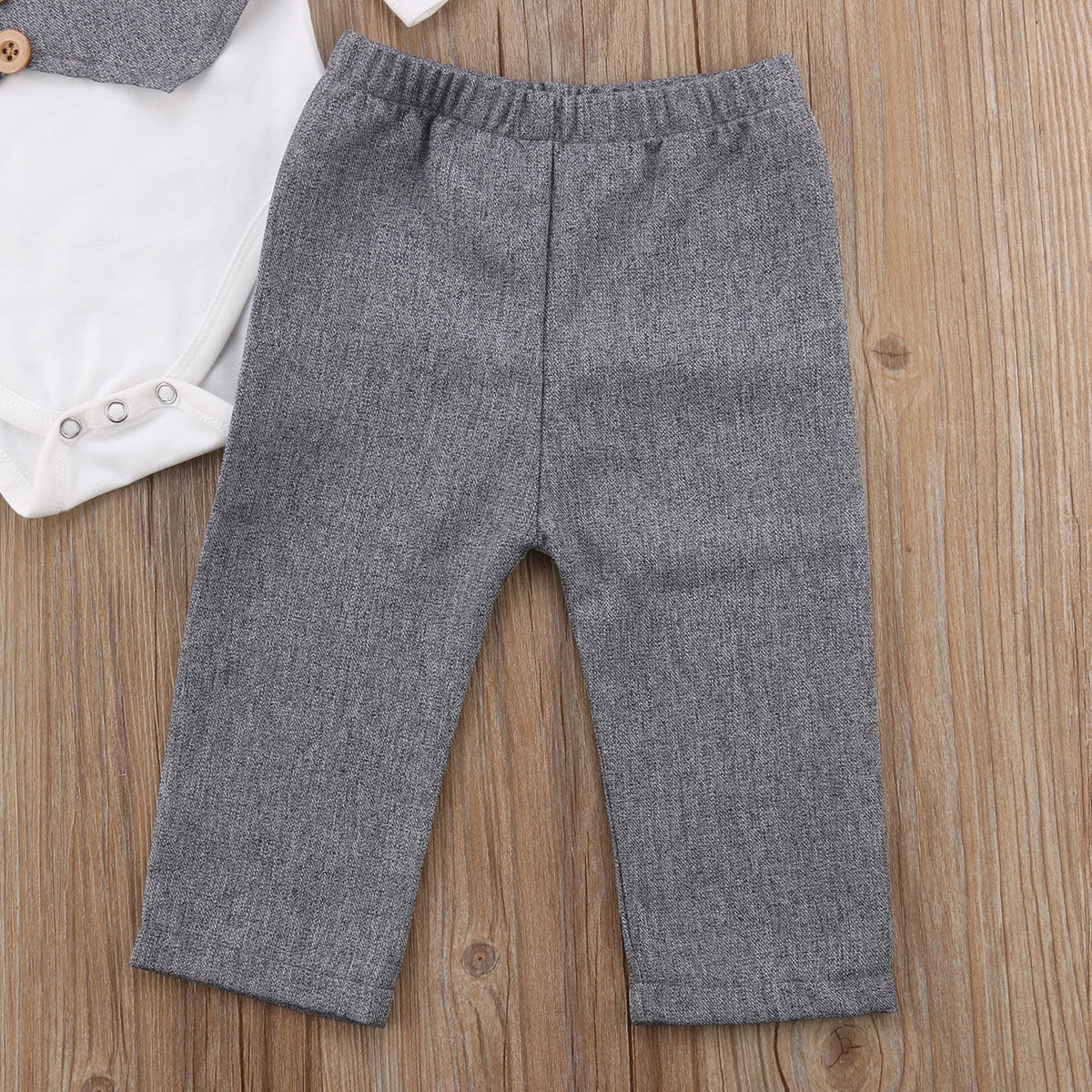 58a0e554f9871 ... Baby Boy Bow Tie Vest Shirt + Pants for Photos Clothing Set ...