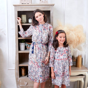 (Mommy & Me) Floral Tunic Dress (woman size)
