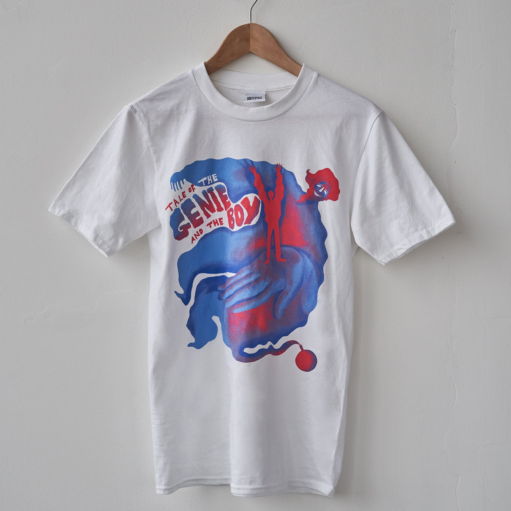 Genie and The Boy - White T-Shirt