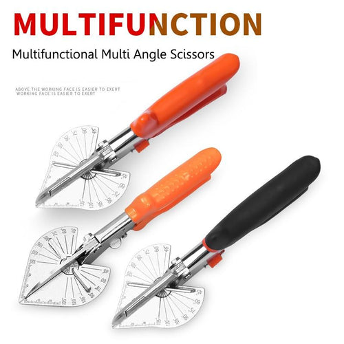 45 - 90 Degrees U Edge Multifunctional Multi Angle Scissors