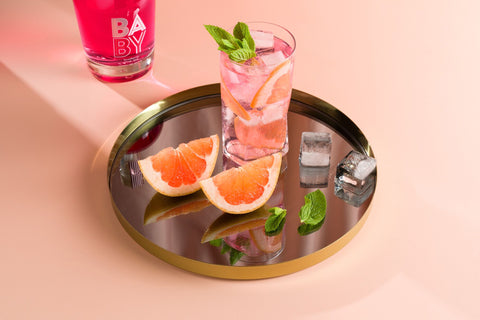 Make best pink gin cocktails, baby pink gin quarantini recipe