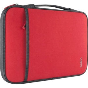 Belkin Components 11in Laptop-chromebook Sleeves Red  Internal Case  Dimensions 12 6in X 8 0in X 0