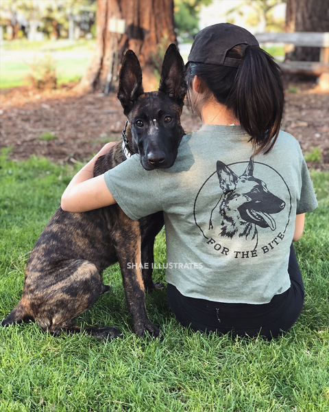 For The Bite (Malinois) T-shirt