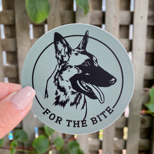 For the Bite Sticker