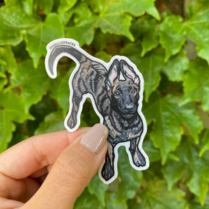 Dutchie Puppy Sticker
