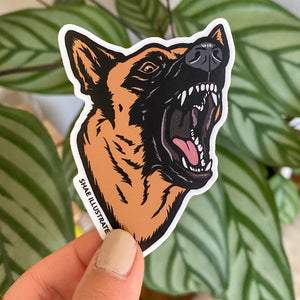 Bitework Working Dog Sticker