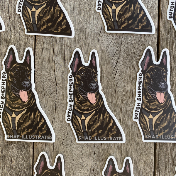 Dutch Shepherd Sticker