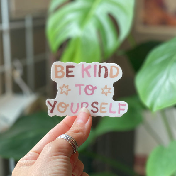 Self Compassion Stickers
