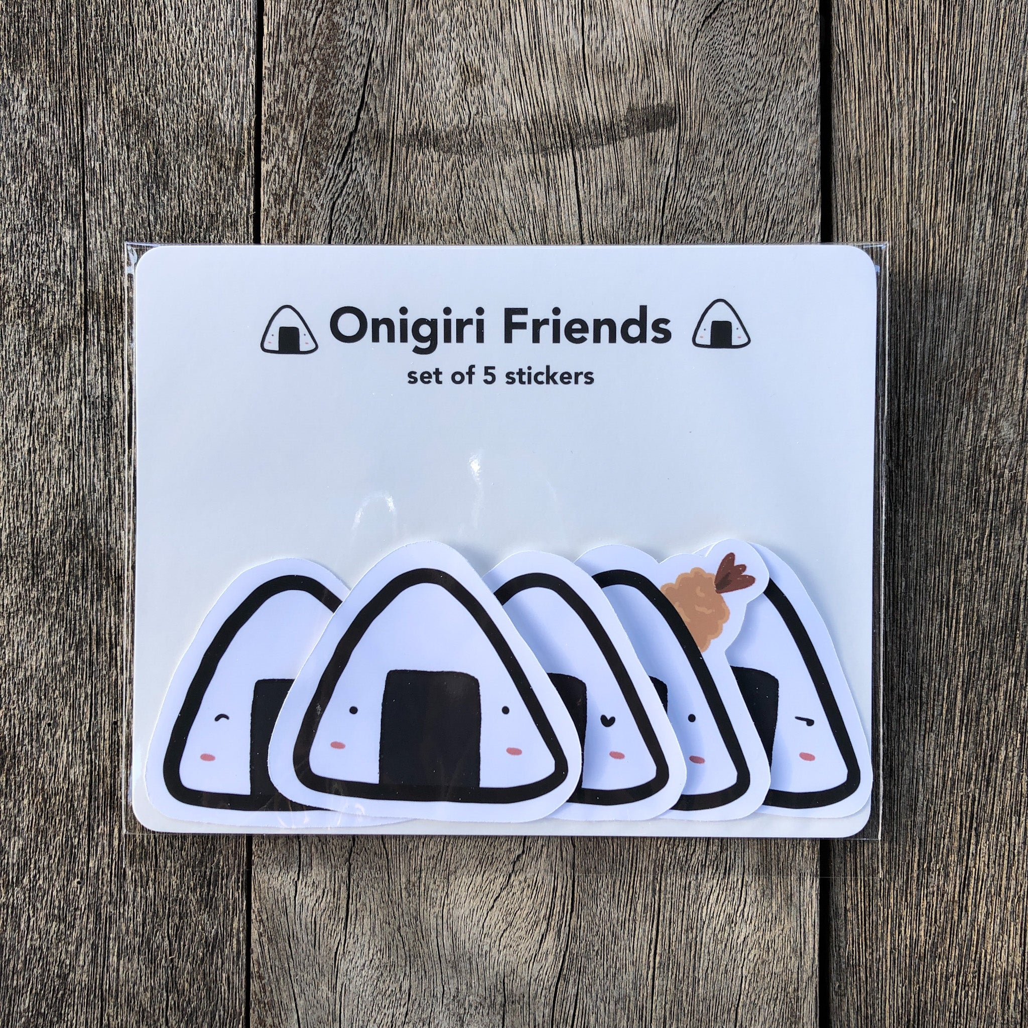 Onigiri Friends Sticker Pack