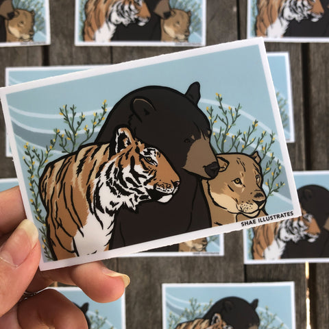 Beast Frens Sticker