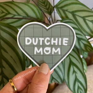 Dutchie Mom Sticker