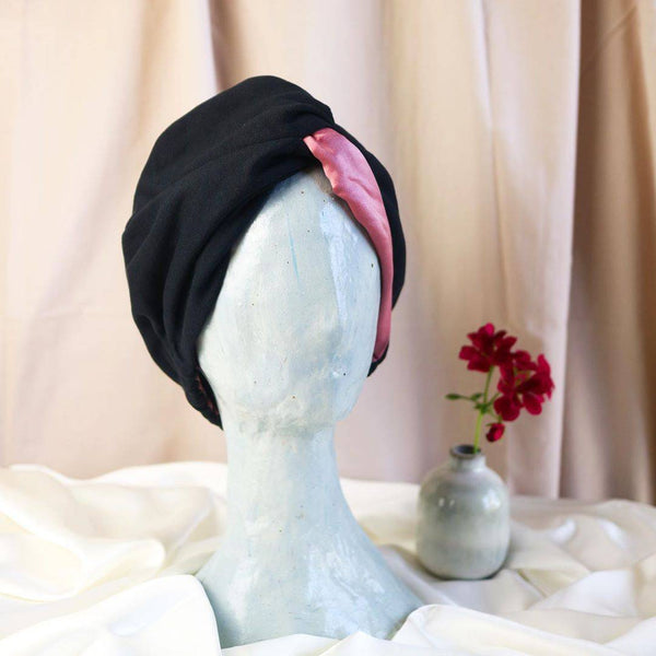 Signature Silk Hair Turban | English Rose