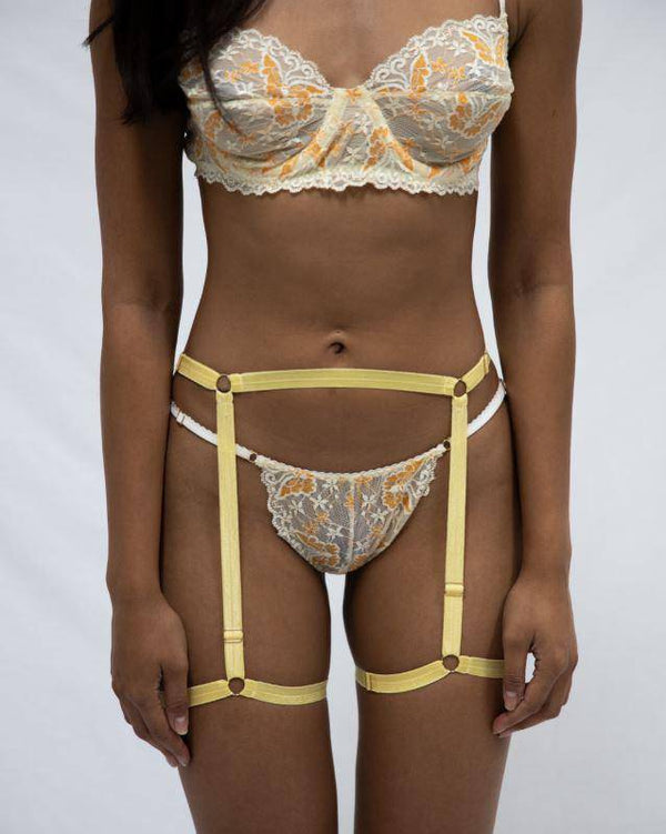 Bambi Body Harness | Yellow
