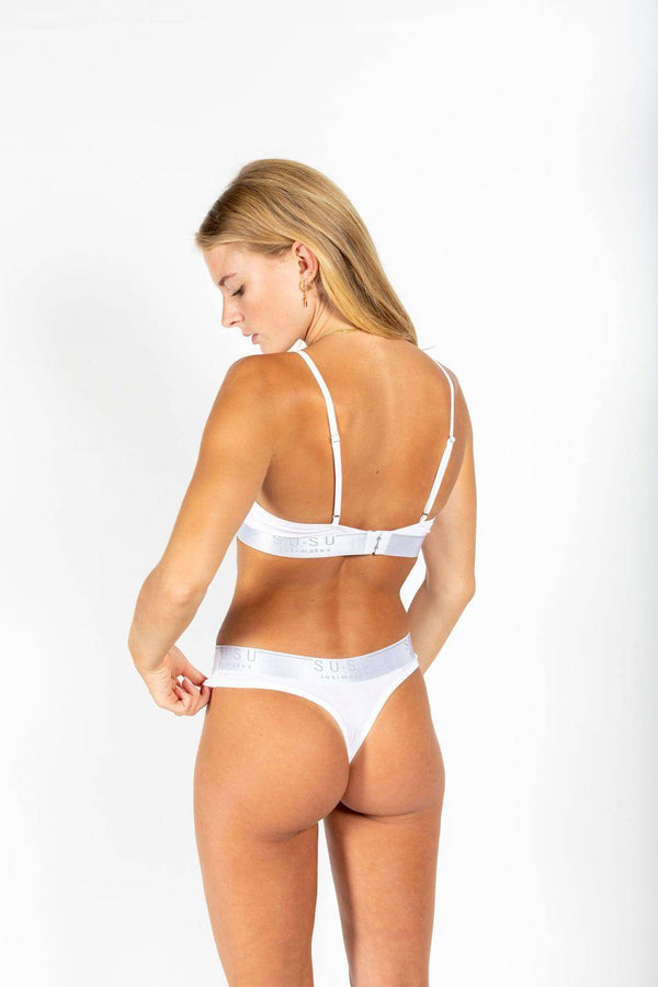 Statement G | White - Souszy - Susu Intimates