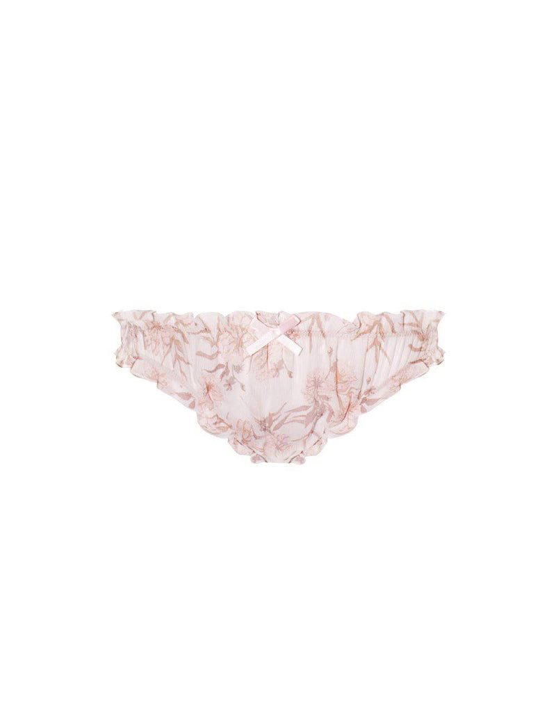 Gardenia Brief | Summer Faded Floral Print