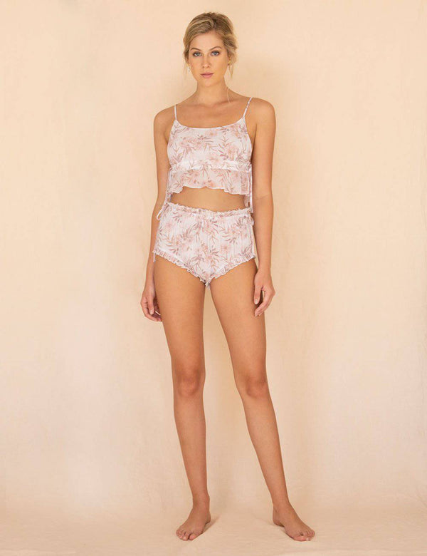 Camelia Bralette | Summer Faded Floral Print