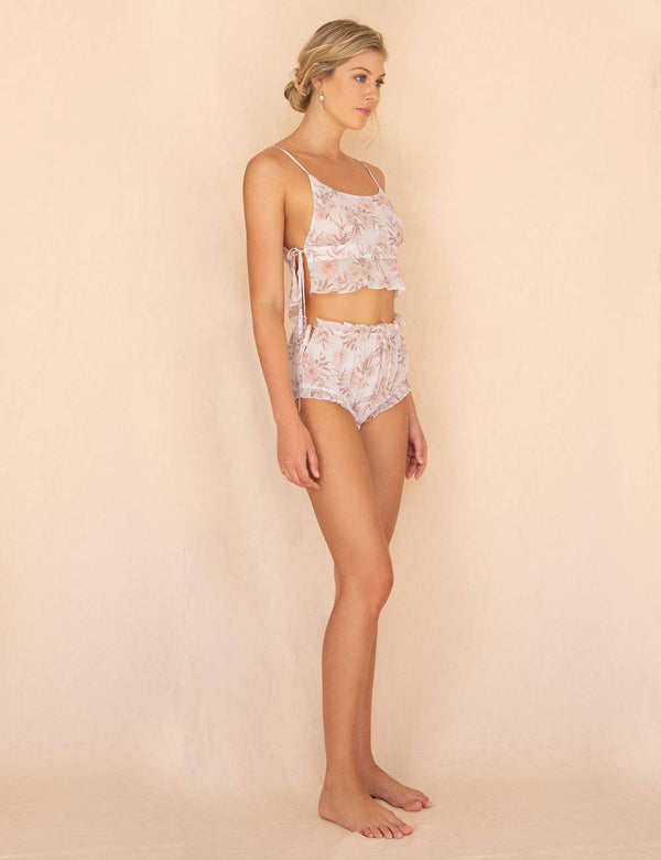 Magnolia Brief | Summer Faded Floral Print