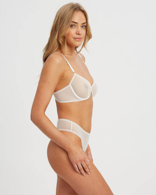 Lover Underwire Bra | White