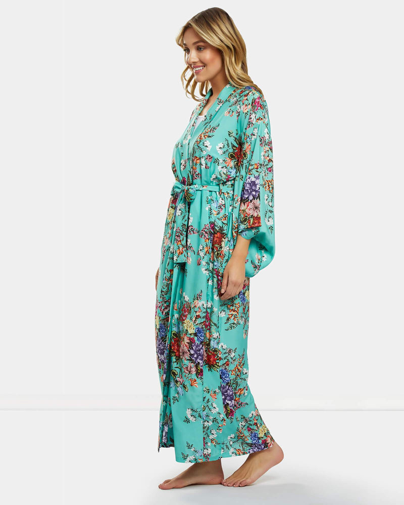 Caribbean Sea Kimono Robe - Souszy - Dream With Me