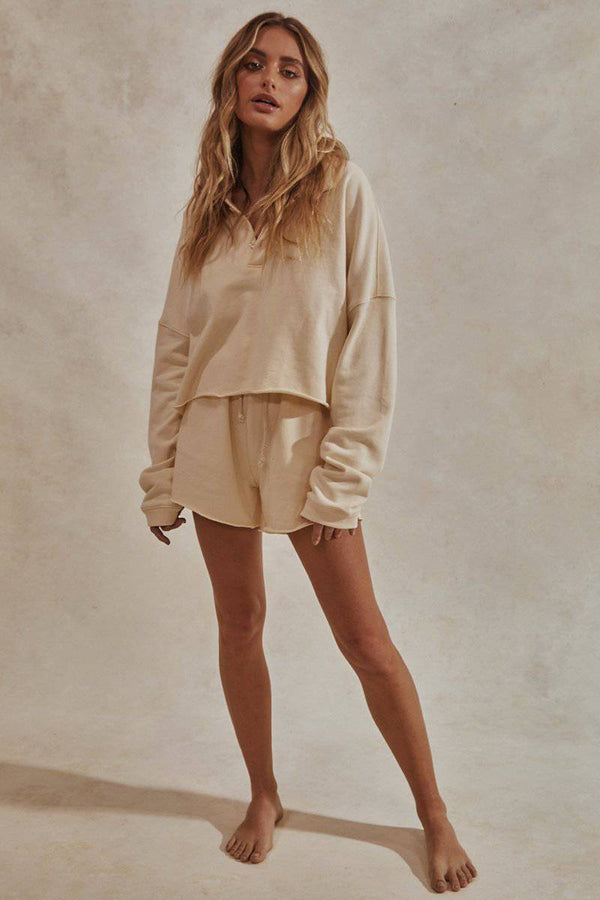 Chill Fleece Set | Cream