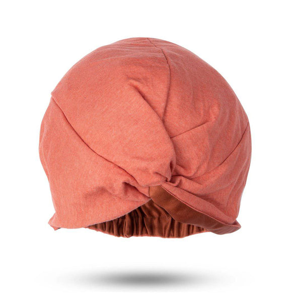 Signature Silk Hair Turban | Cinnamon