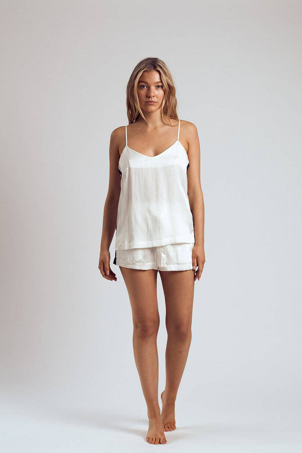 Silk Cami | White Russian