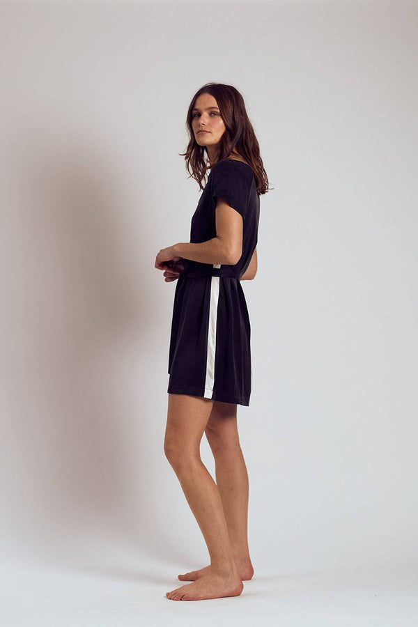 Silk Dress | Black Sambuca