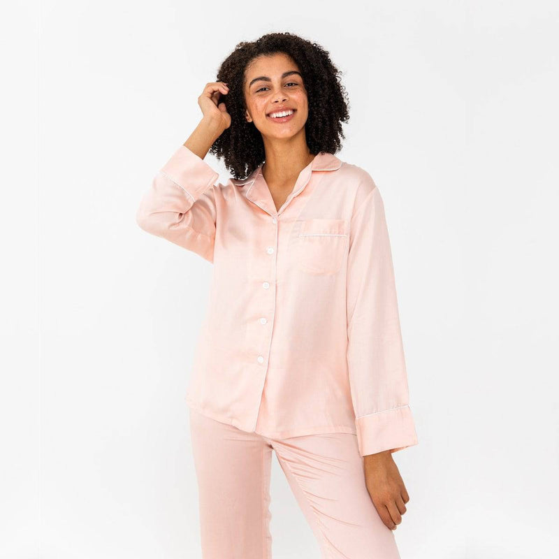 Bamboo Lyocell Long Sleeve PJ Shirt