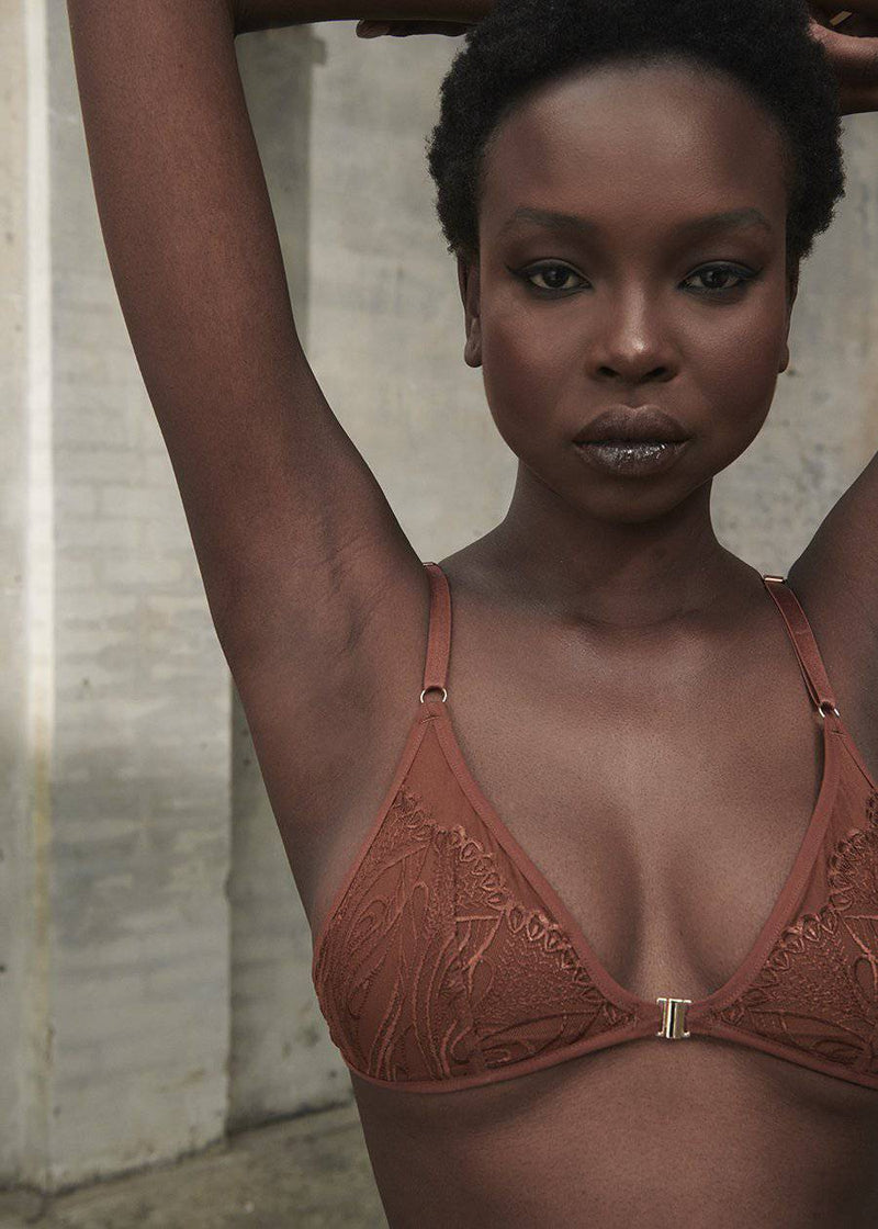 Lace Bralette | Shade 4 - Souszy - Rose & Bare