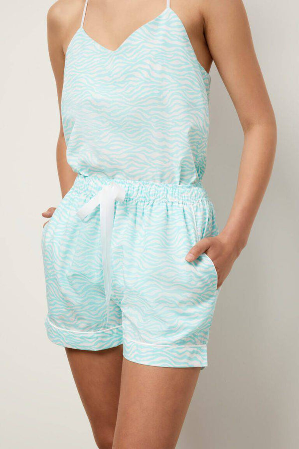 The Lucia Camsiole Boxer Set - Souszy - Wanderluxe