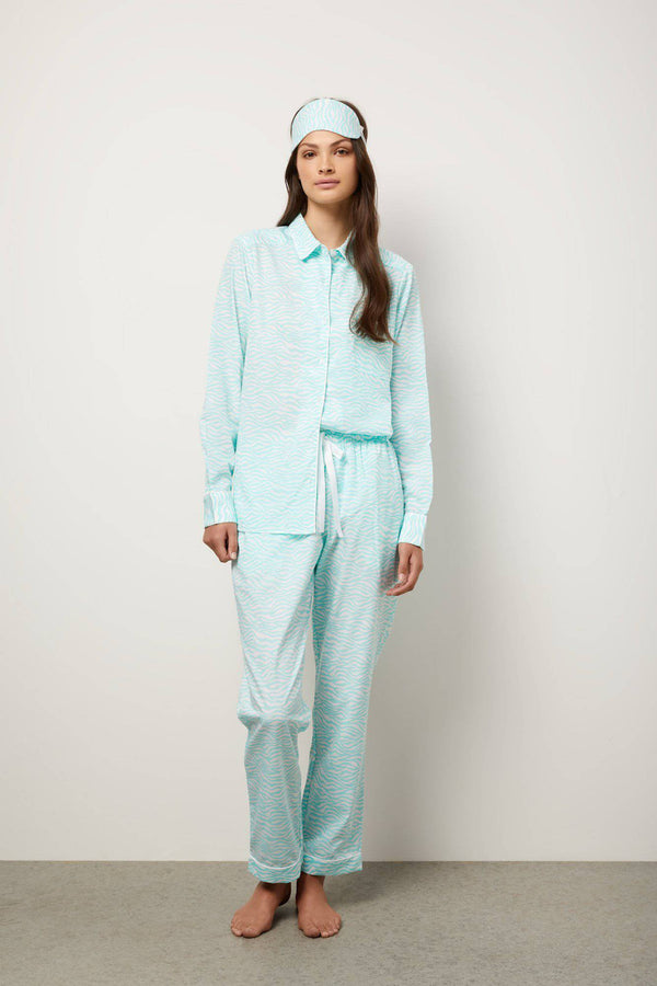The Lucia Pyjama Set Long - Souszy - Wanderluxe