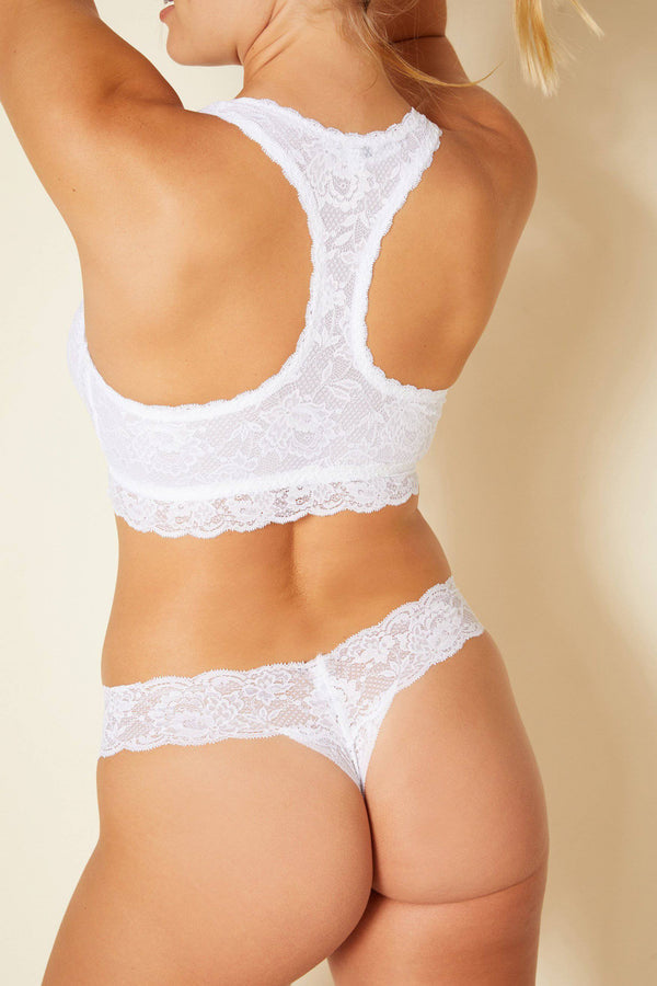 Never Say Never LR Thong | White - Souszy - Cosabella