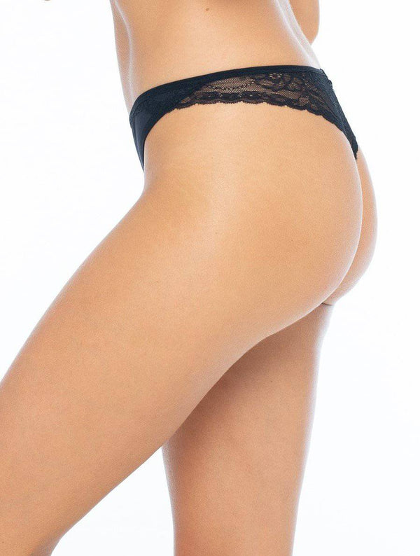 The Noir G String - Souszy - La Vie Intimates