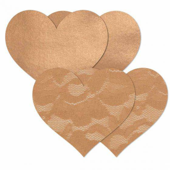 Nipple Cover Basics | Caramel Heart - Souszy - B-SIX