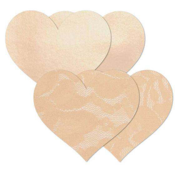 Nipple Cover Basics | Creme Heart - Souszy - B-SIX