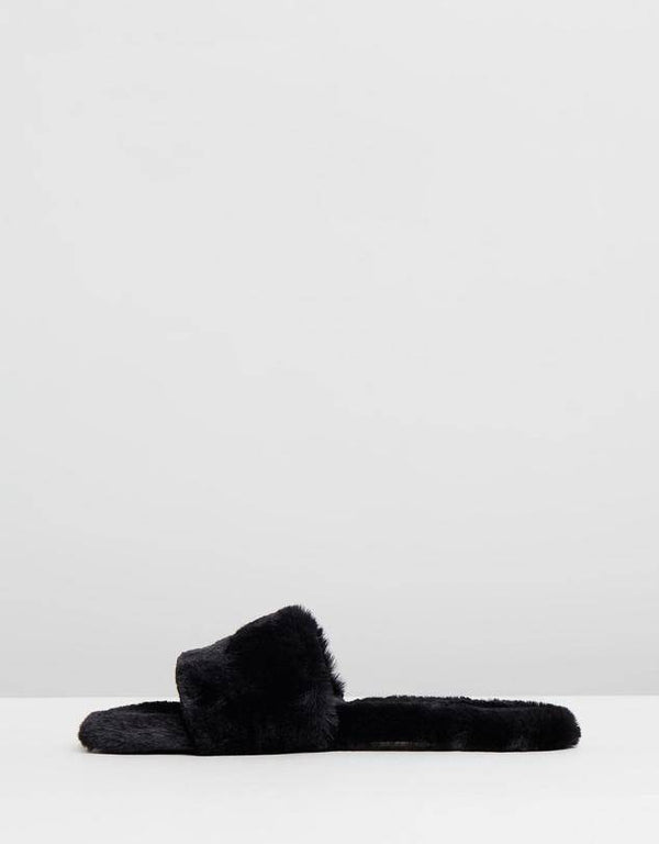 Idella Slipper | Ebony