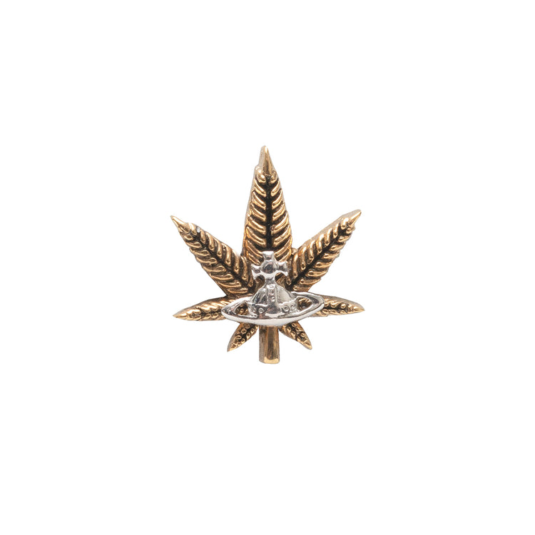 "Vivienne Westwood ""Leaf Single Stud"""