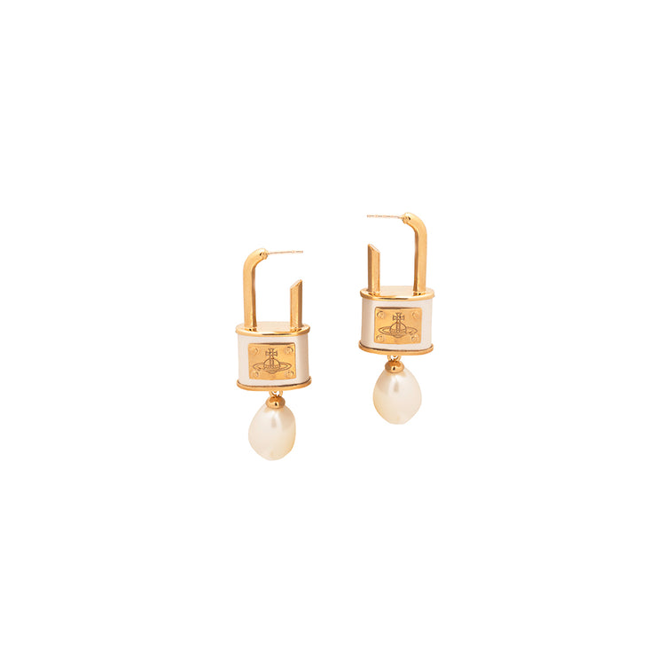"Vivienne Westwood ""Luna Drop Earrings"""