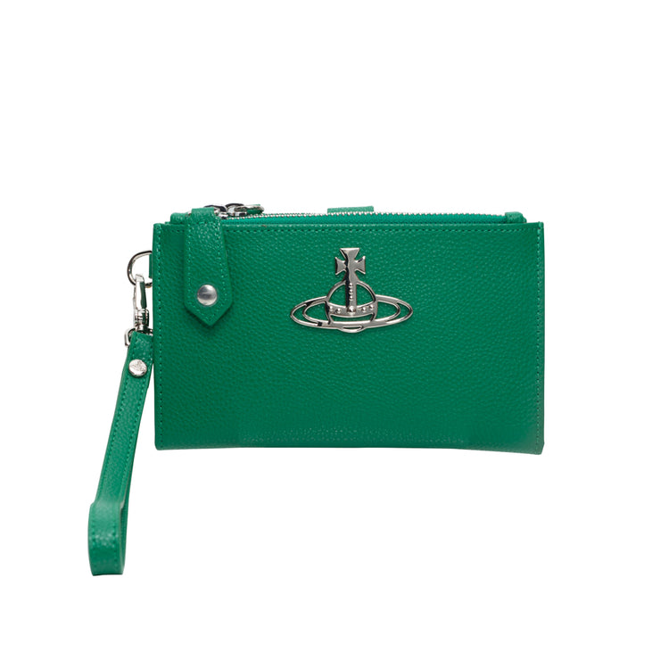 "Vivienne Westwood ""Kelly Phone Wallet with Zip"""