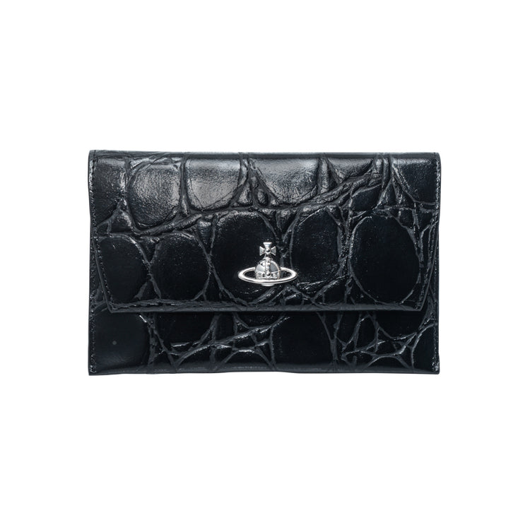 "Vivienne Westwood ""Dora Passport Purse (Black)"""