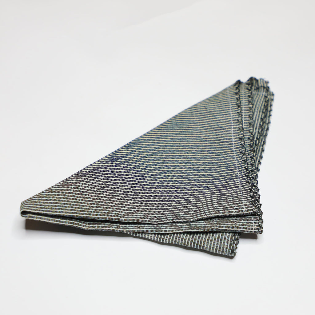 Linen Hand-stitched Pocket Square