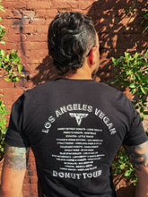 Load image into Gallery viewer, LA Vegan Donut Tour T-Shirt