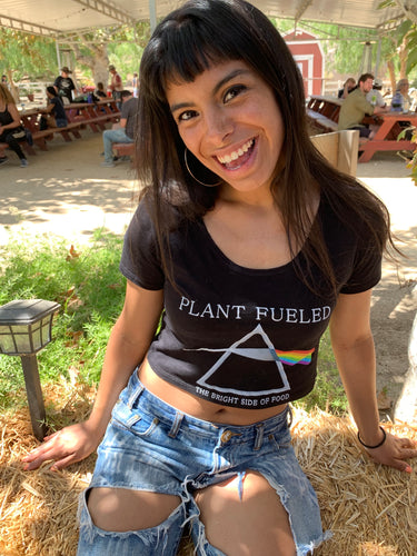 Plant Fueled - The Bright Side of Food (Crop Top)