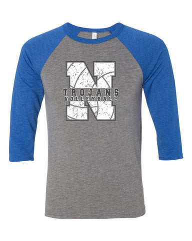 NIACC Volleyball 3/4 Sleeve Tee (2 Styles)