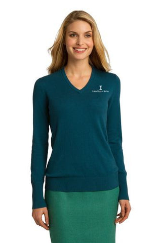 ISB Port Authority® Ladies V-Neck Sweater