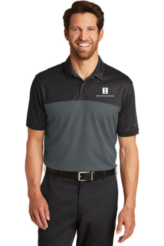 ISB Men's Nike Dri-FIT Colorblock Micro Pique Polo